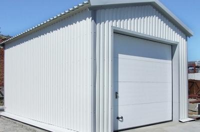 Как построить гараж из сэндвич-панелей?