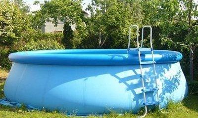 Дачный надувной бассейн - как выбрать и установить